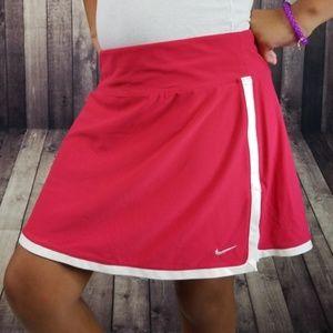 Nike Fit Dry pink & white skort